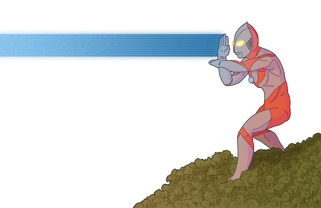 Ultraman by InfernalFinn