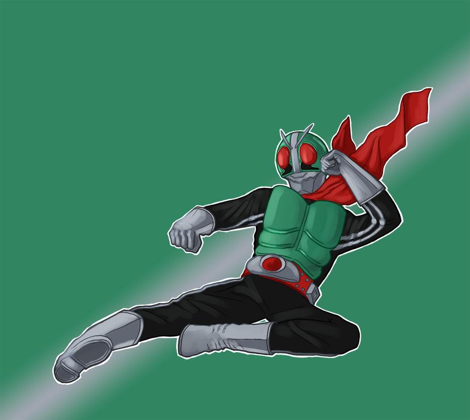 Kamen Rider 1 by InfernalFinn