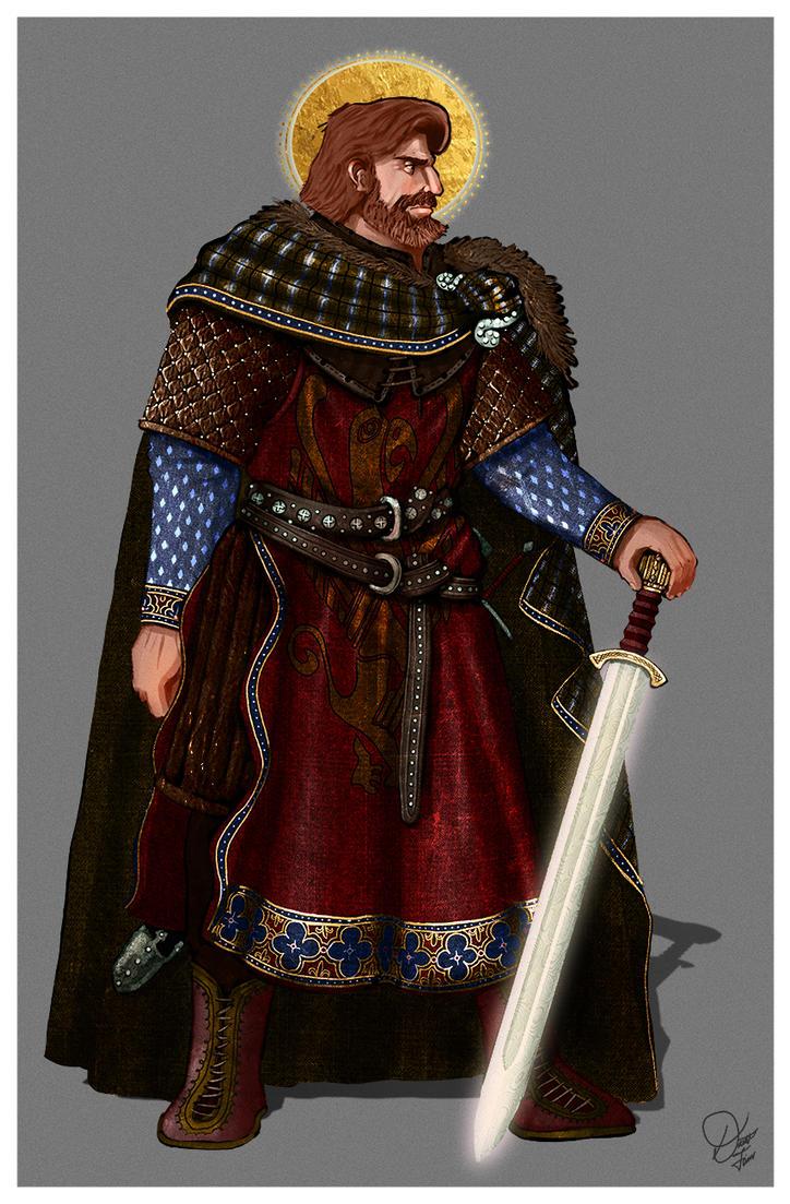 Godric Gryffindor/Goddard Griffin D'Or by InfernalFinn