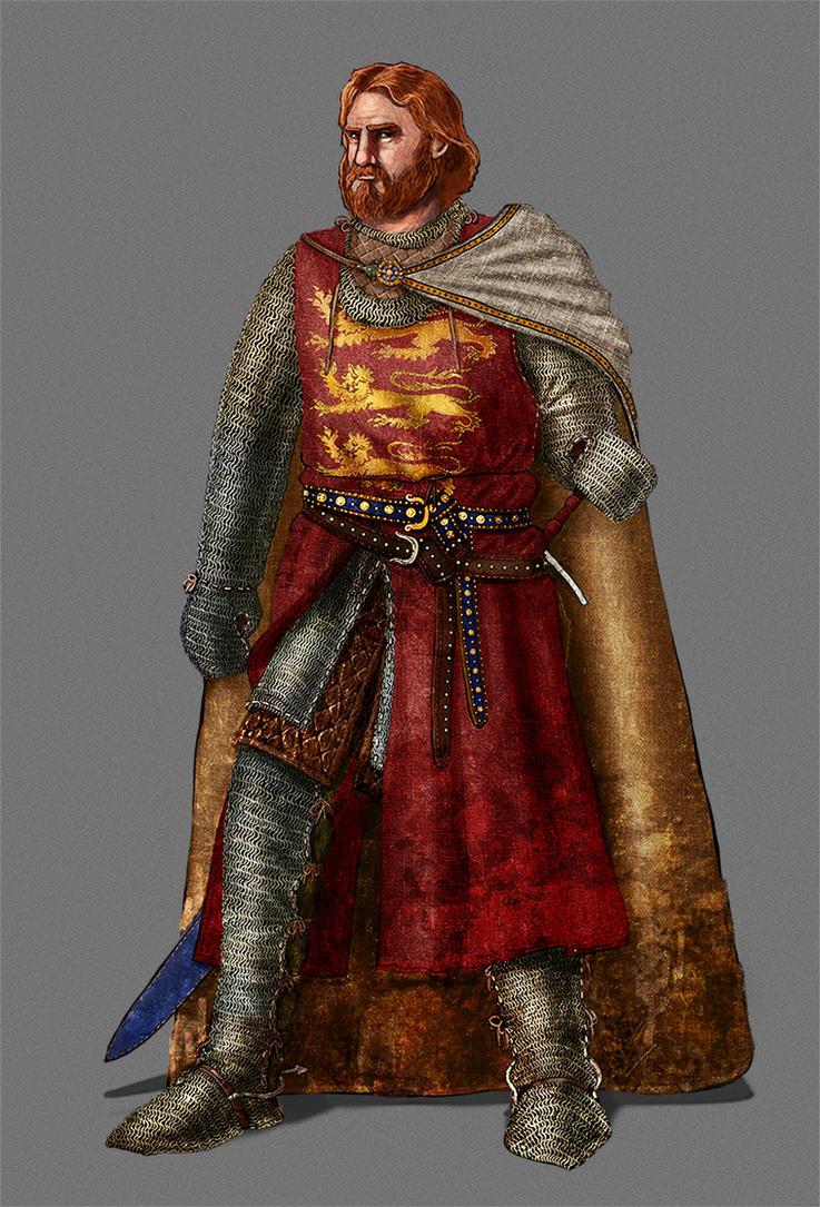 Richard Coeur de Lion by InfernalFinn