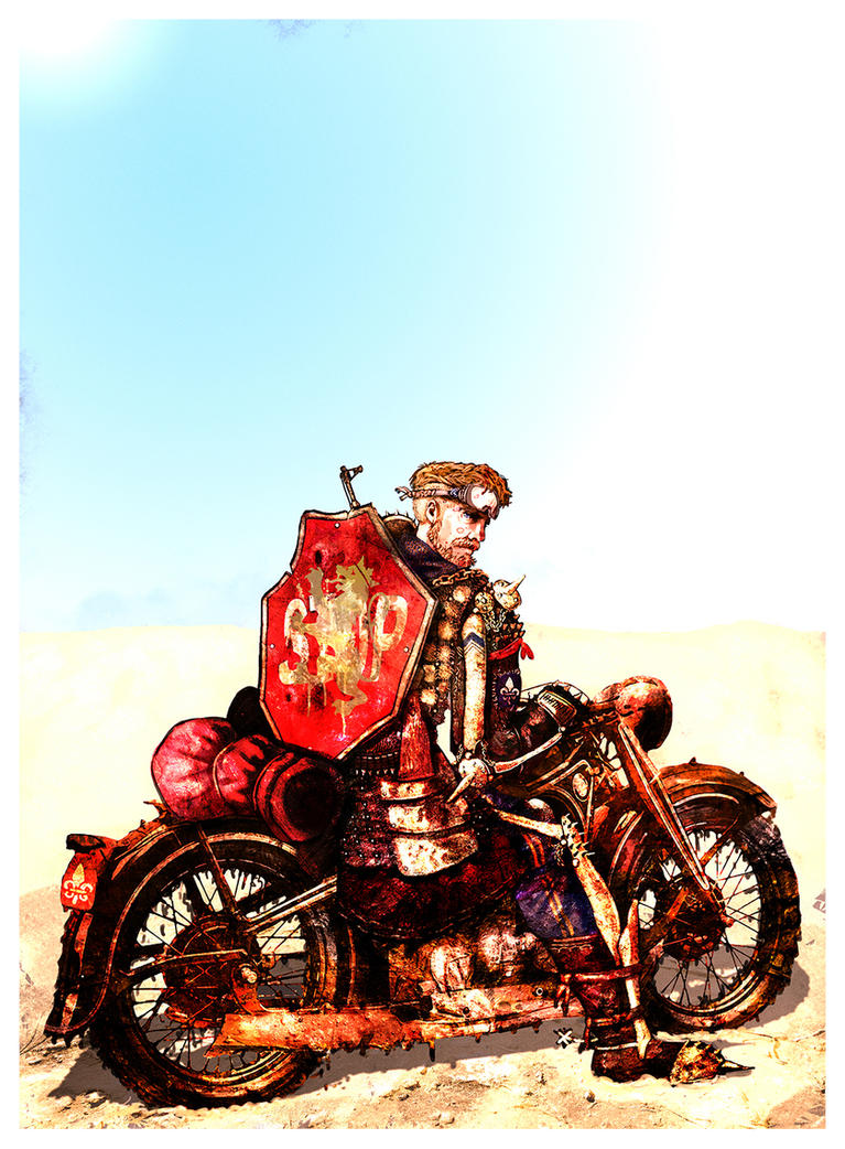 Errant Road Warrior by InfernalFinn