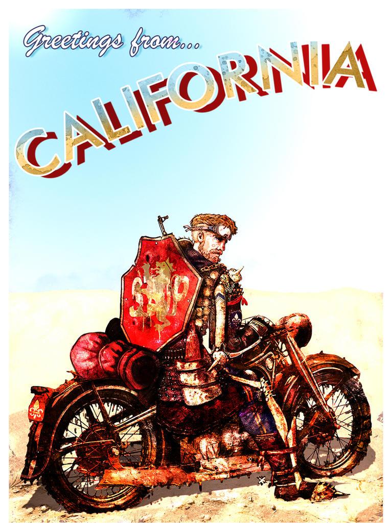 Greetings From California by InfernalFinn