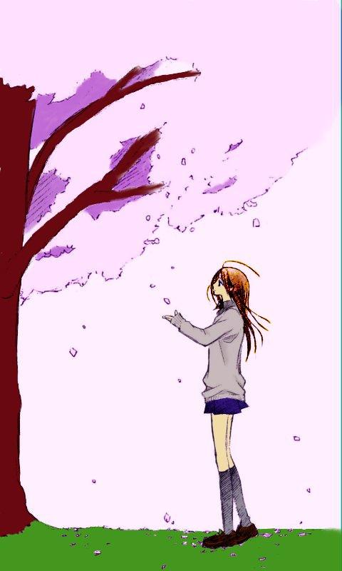 Replay-Doo's work Under_the_Cherry_Blossom_by_AnimESuckeR