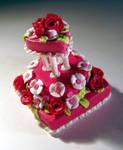 Miniature Valentine Cake