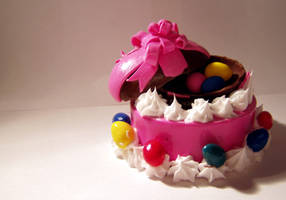 Miniature Easter Cake by ChocolateDecadence