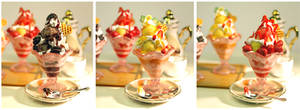 3 Miniature Icecream Coups