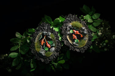 Fish Pond Brooches