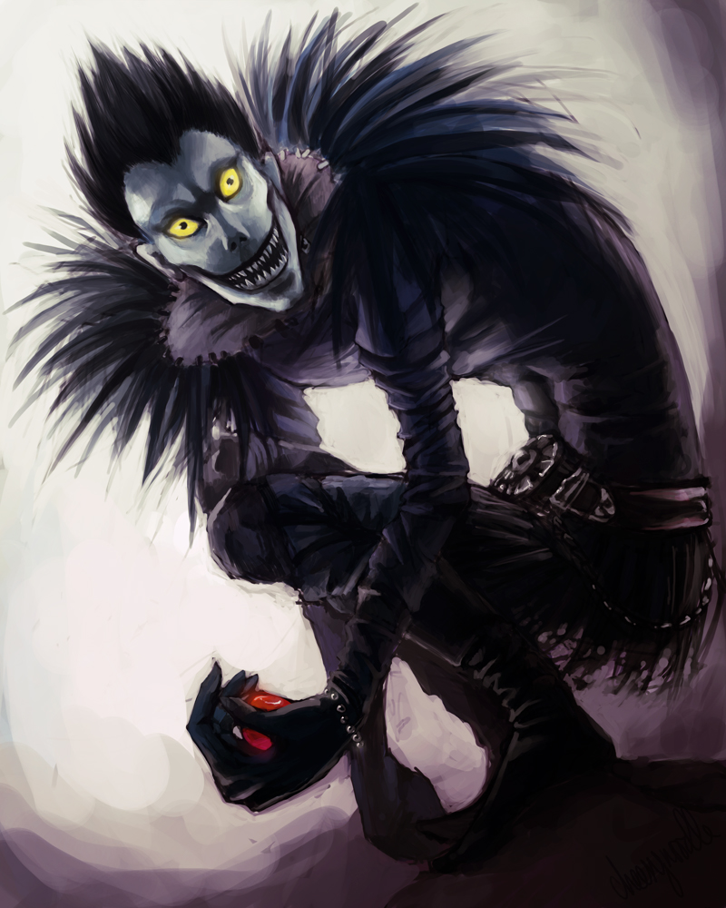 Ryuk .Deathnote. by cheesynoodle on DeviantArt