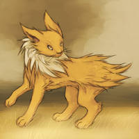 Jolteon by TheFlyingDead