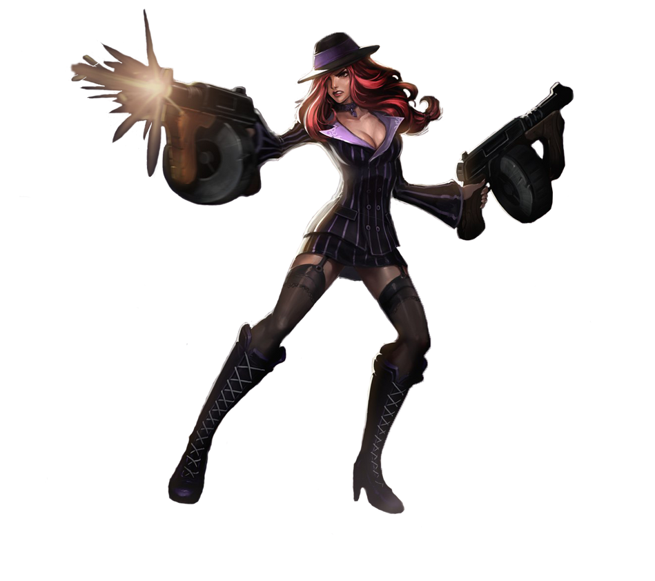 Miss Fortune Mafia Render by kuroofan23 | Garotas