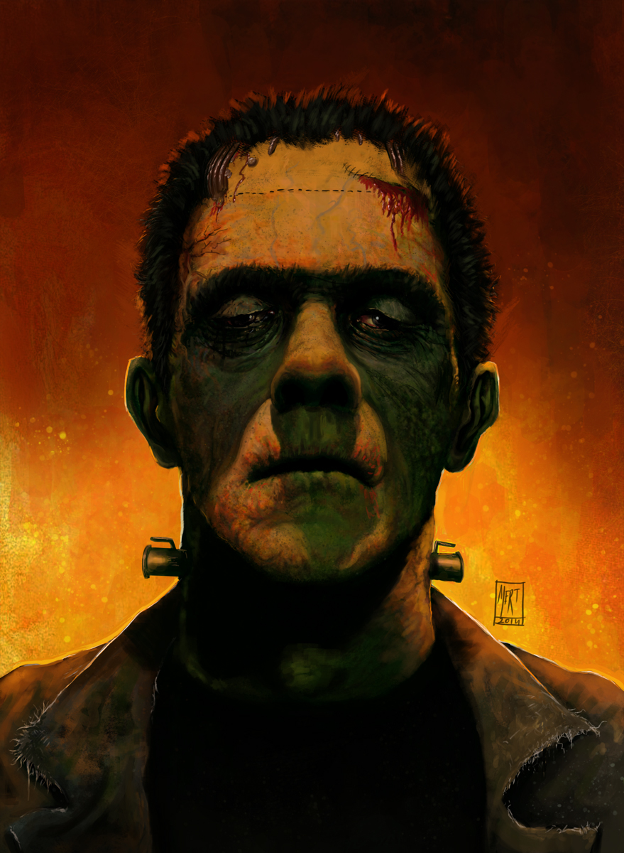 Frankenstein's Monster by mgenccinar