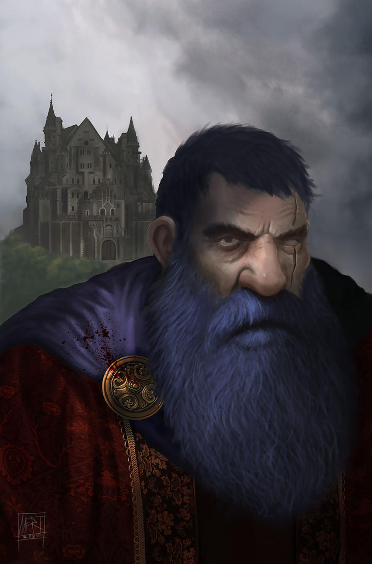Blue beard by mgenccinar