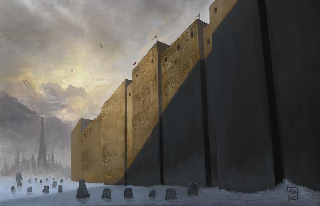 Grave Walls by mgenccinar