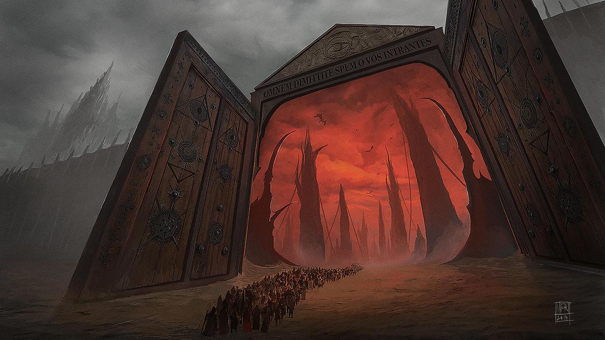 At the Gates by mgenccinar