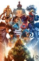 Street Fighter vs Darkstalkers by mazingerpip