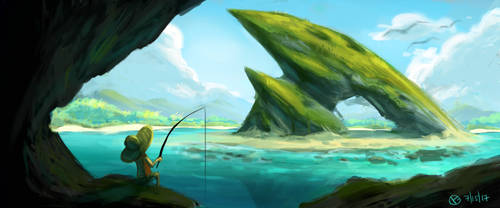 Dragon Rock by mazingerpip