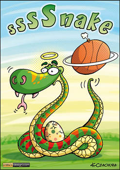 Basketball snake