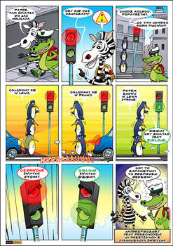 comic with crocodile 1