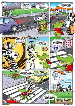 comic with crocodile 2