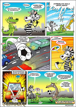 comic with crocodile 5