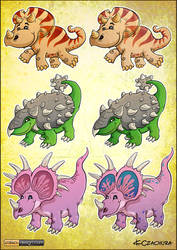 Dinosaurs concept arts 2