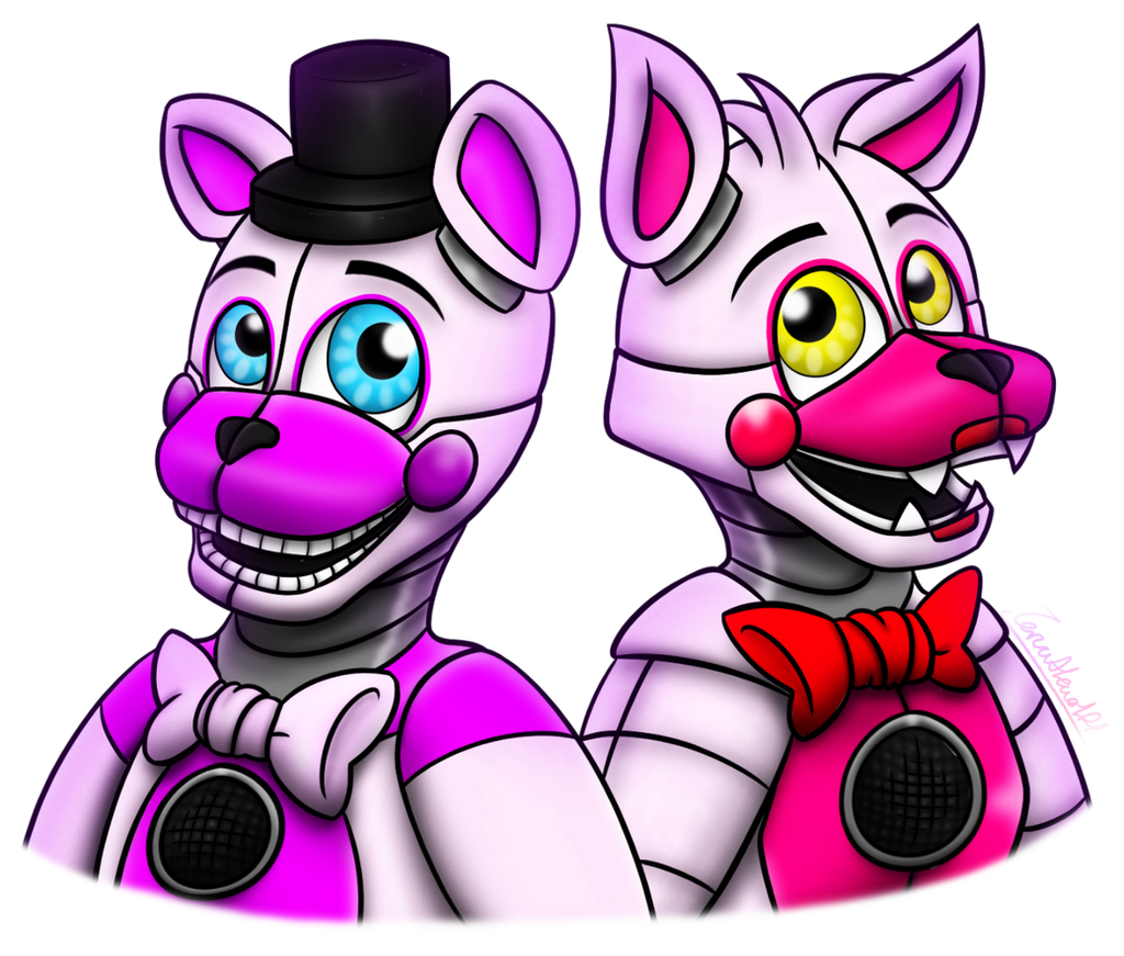 Funtime freddy and funtime foxy