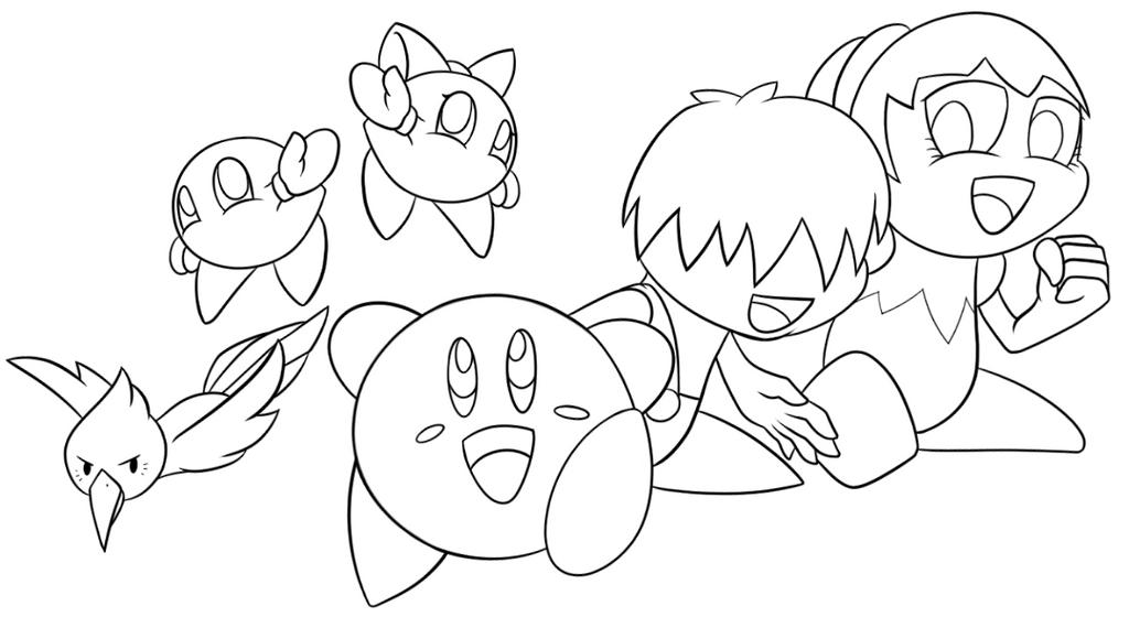Kirby Right Back At Ya Wallpaper Part1 By Zoruathewolf1
