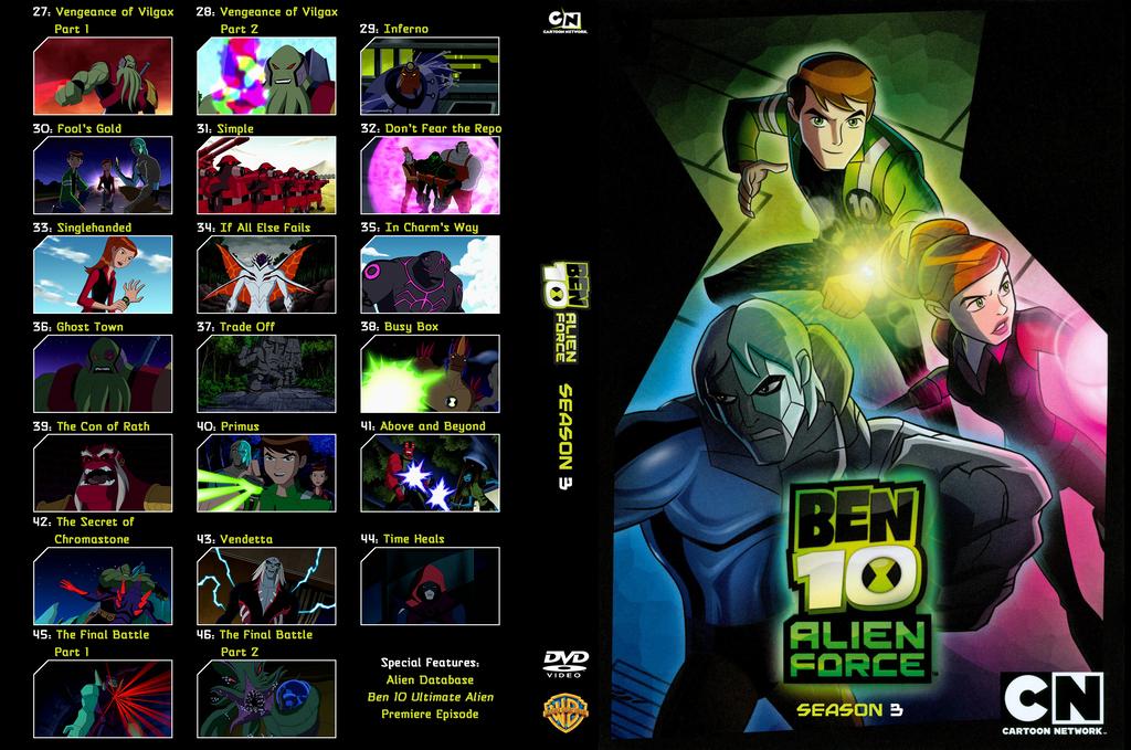 Ben 10 ultimate alien season 3 games