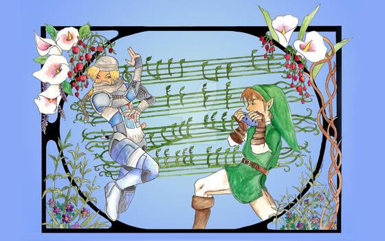 Legend of Zelda Fan Art by miniktty