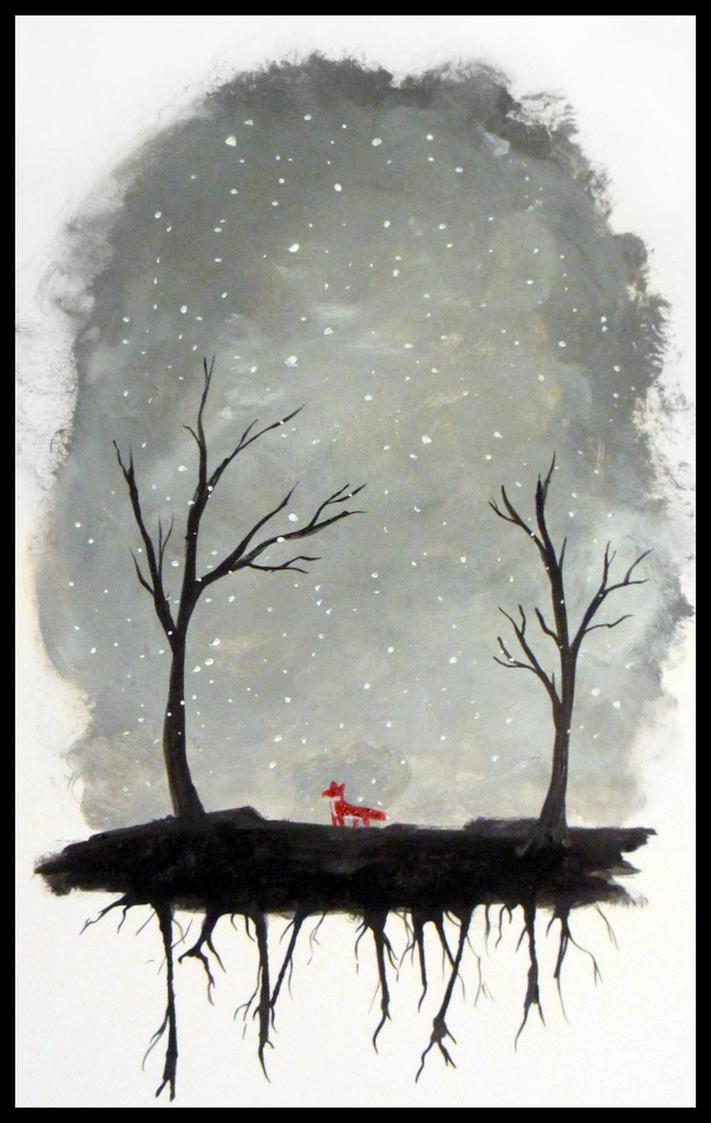 Winter Fox by miniktty