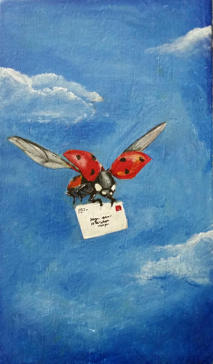 Air mail by miniktty