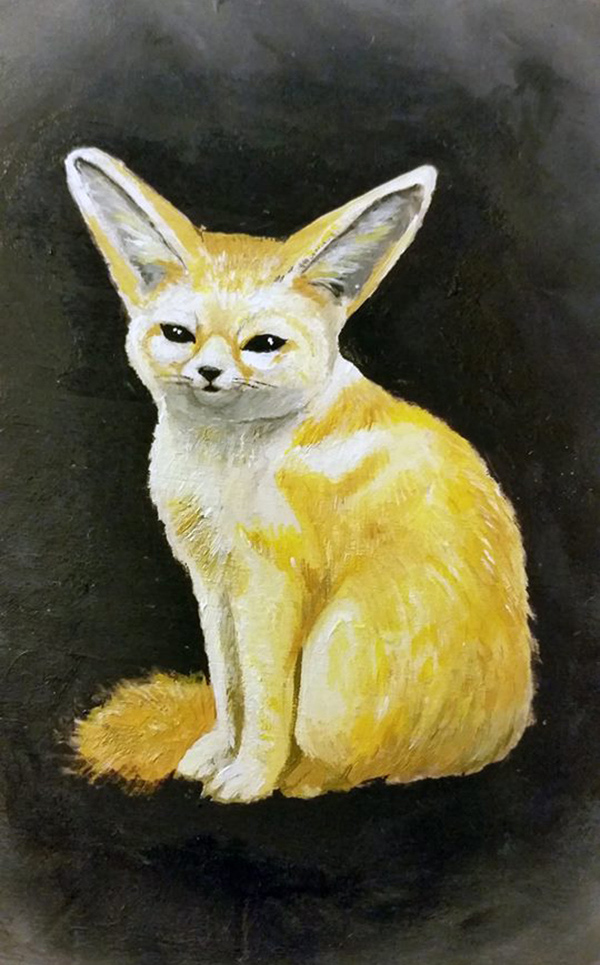 Fennec Fox by miniktty
