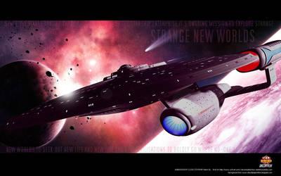 '...STRANGE NEW WORLDS...'