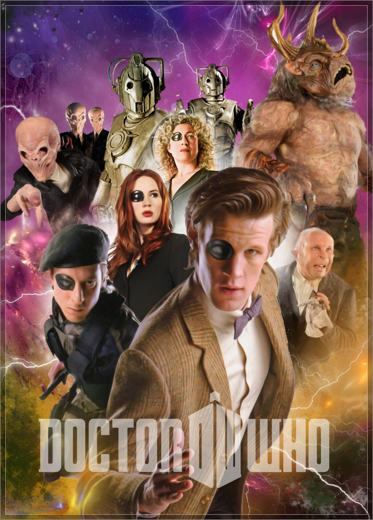 Doctor Who series 6 poster 4 by gazzatrek