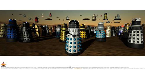 '..Daleks..' v.2 by gazzatrek