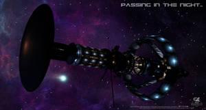 Passing In The Night.. by gazzatrek