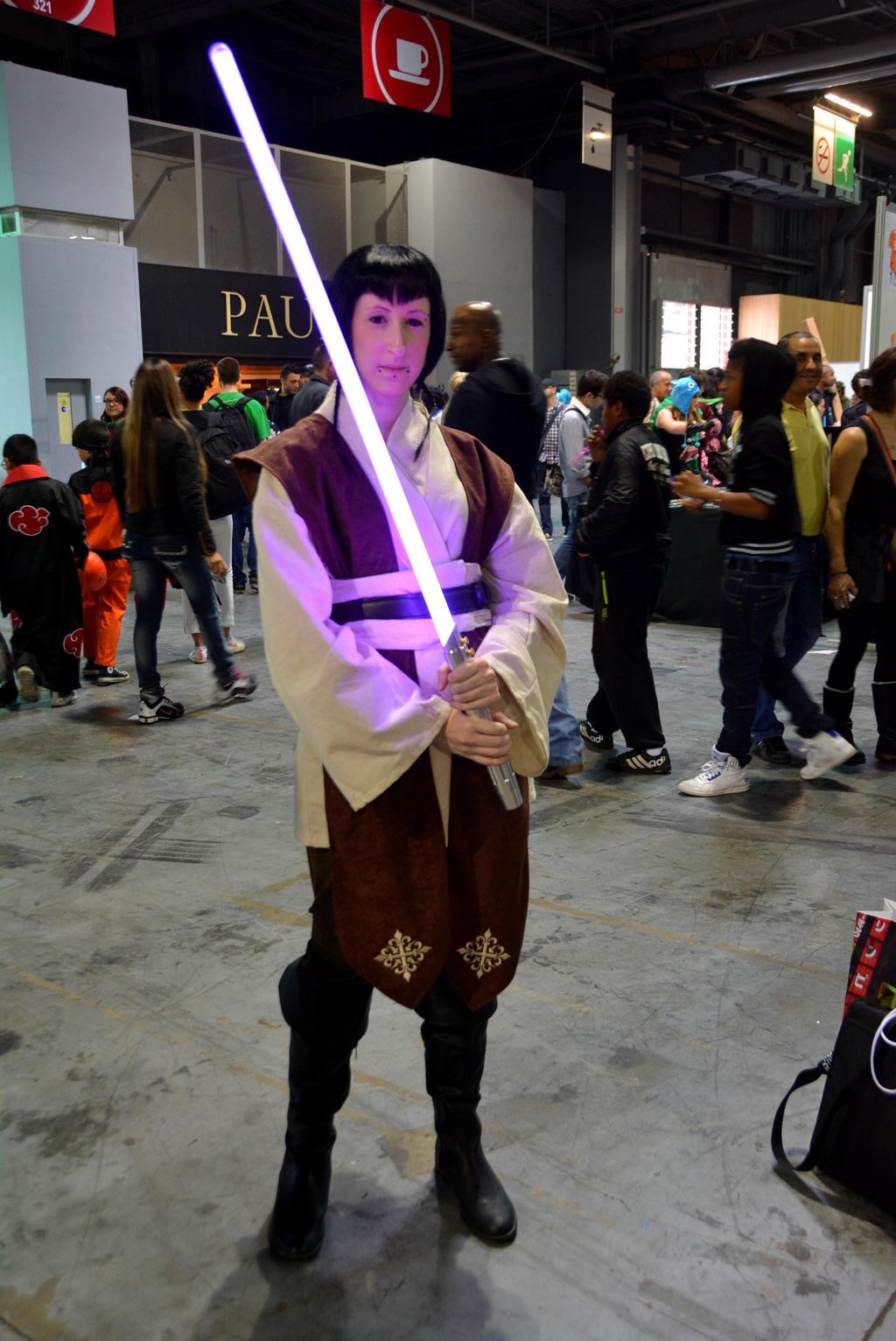 Me as a Jedi by PyodeKantra