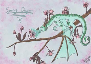 Spring Dragon by PyodeKantra