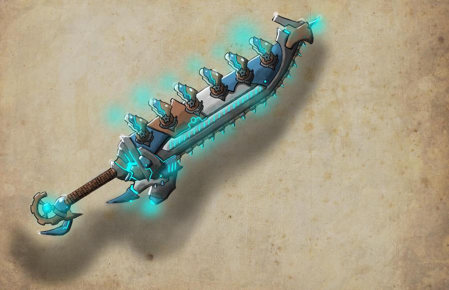 thruster sword by ShinoShoe26
