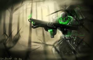 plasma gunner by ShinoShoe26