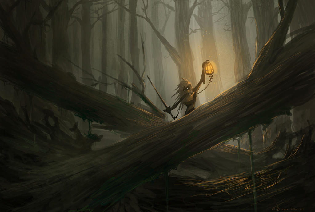 Forest Speed Paint by ShinoShoe26