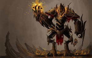 Dragon Bone Knight by ShinoShoe26