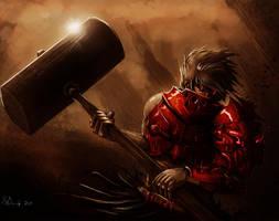 Hammer Knight3 by ShinoShoe26