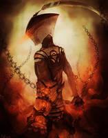 Hellfire Mage by ShinoShoe26