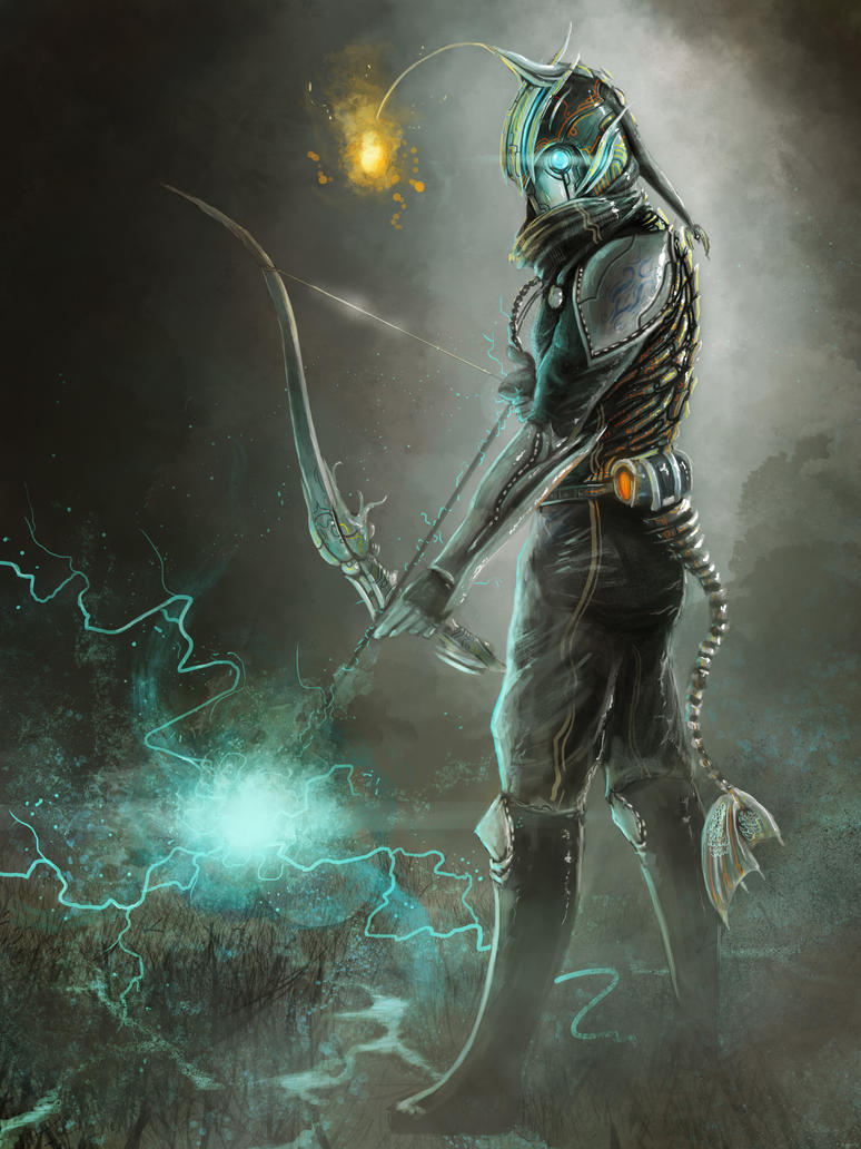 Angler Bowman by ShinoShoe26