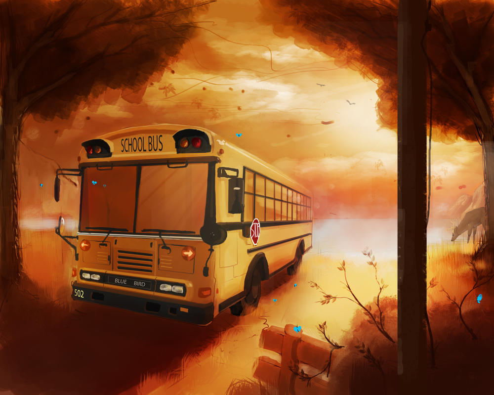 bus commission by ShinoShoe26