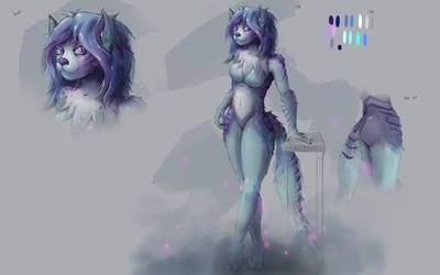 furry lady concept commission by ShinoShoe26