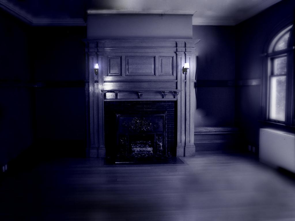 Creepy Room By Burning Shark