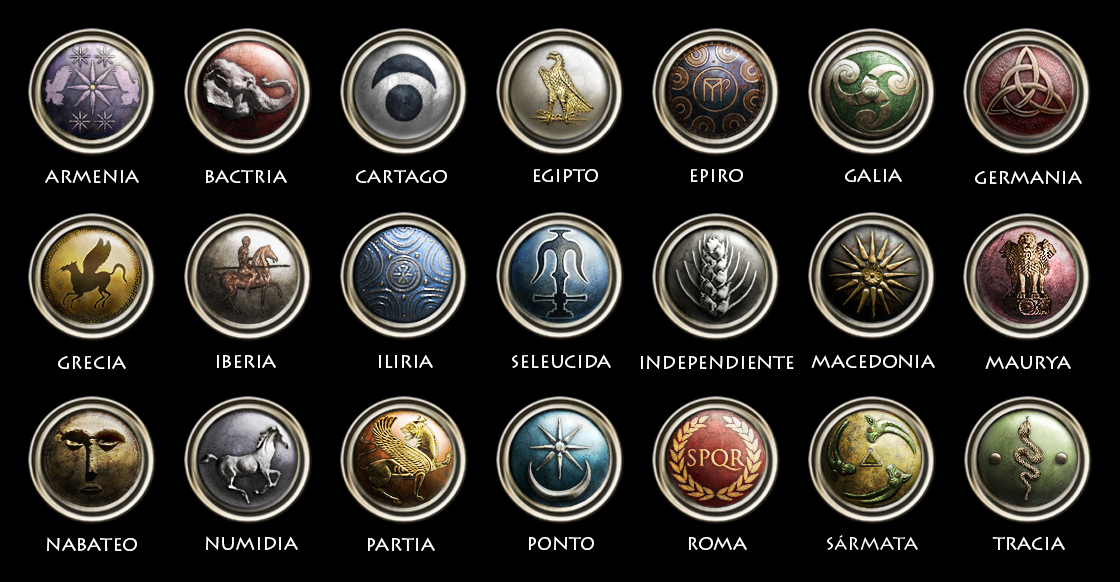 Rome Total War Faction Symbols by Plectocratic on DeviantArt