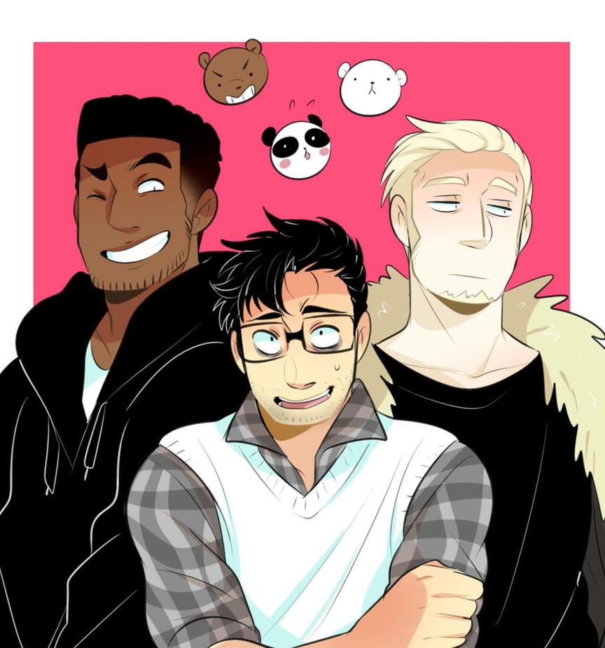 Humanized! We Bare Bears: Isaac (ice bear)x Reader by Punk ...